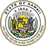 Hawaii State seal logo